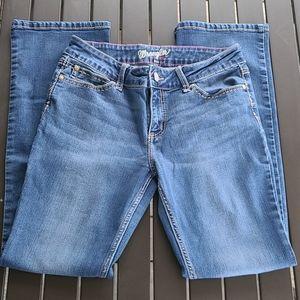 Wrangler Boot Cut Blue Jeans